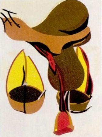 Lithograph Telemaque - Pour Joan Prats