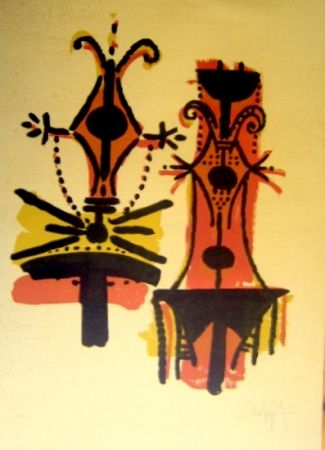 Lithograph Lam - Pour Jorn