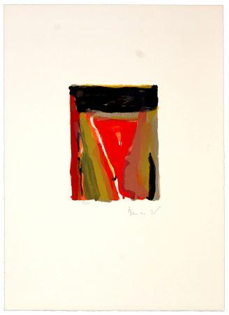 Lithograph Van Velde - Pour Jorn