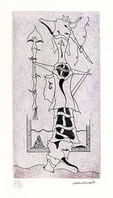 Engraving Camacho  - Pour Joyce Mansour