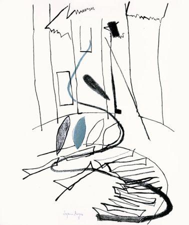 Lithograph Roger - Pour Kahnweiler