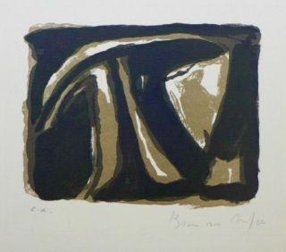 Lithograph Van Velde - Pour la Revue de Belles-Lettres