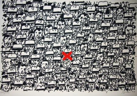 Lithograph Segui - Pour le peuple africain