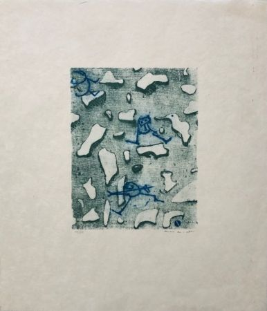 Lithograph Ernst - Pour Lewis Caroll