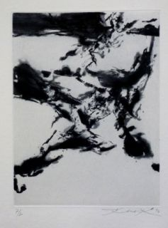 Etching And Aquatint Zao - Pour sonnets SHAKESPEARE 4