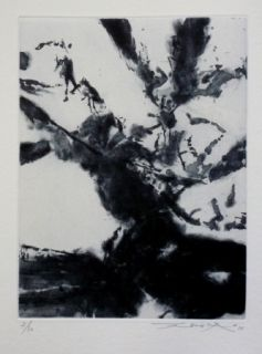 Etching And Aquatint Zao - Pour sonnets SHAKESPEARE 5