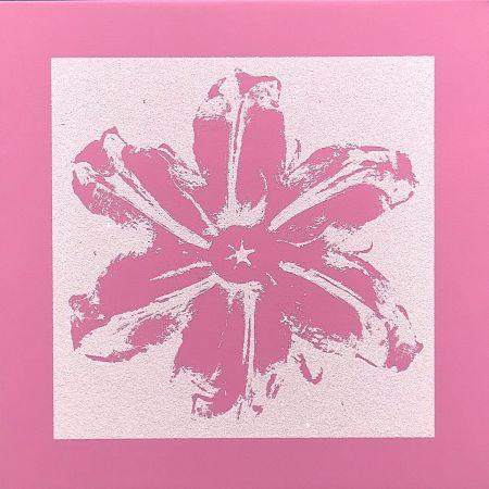 Screenprint Robierb - Power Flower (Pink)