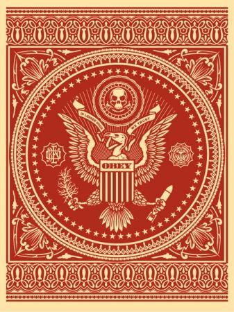 Screenprint Fairey - Presidential Seal Red