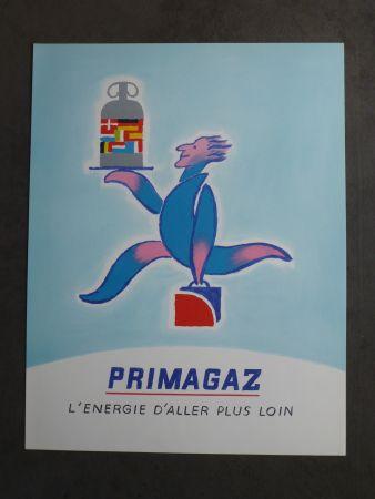 Poster Savignac - Primagaz l'énergie d'aller plus loin
