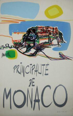 Screenprint Moretti - Principauté de Monaco  1960