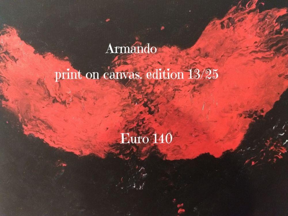Lithograph Armando - Print on cavas