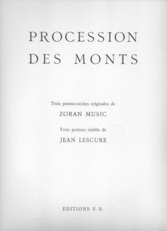 Illustrated Book Music - Procession des monts