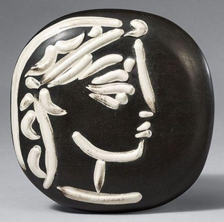 Ceramic Picasso - Profil de Jacqueline (Jacqueline's Profile)