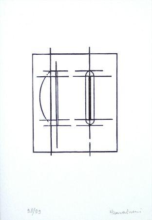 Linocut Bonalumi - Progetto