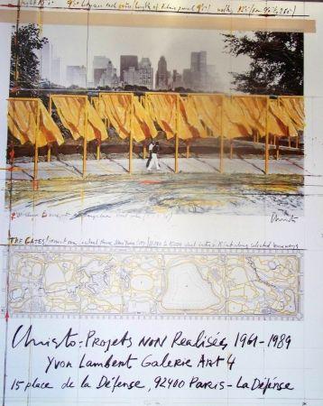 Offset Christo - Projet non réalisés 1961-1989