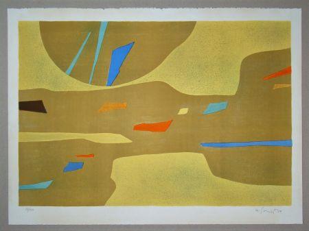 Lithograph Singier - Provence grande lumière