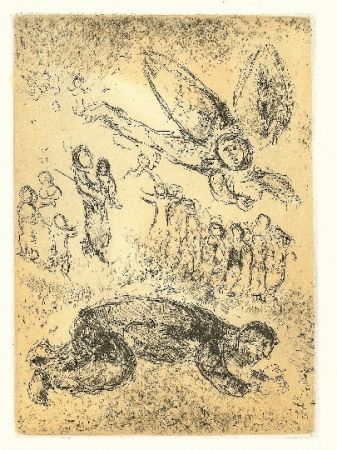 Drypoint Chagall - Psaumes de David 2