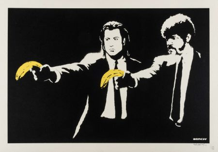 Screenprint Banksy - Pulp fiction