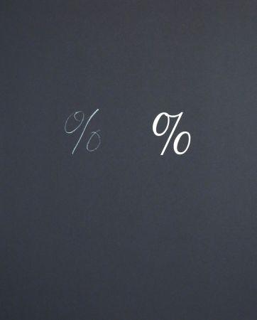 Lithograph Muntadas - Puntuacions 2