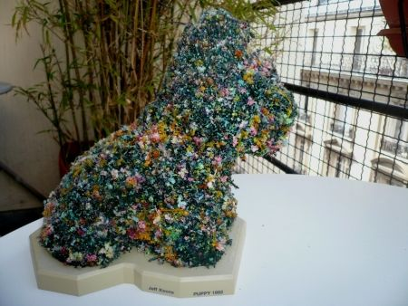 Multiple Koons - Puppy (Hecho a mano)
