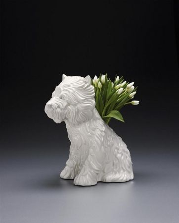 No Technical Koons - Puppy Vase