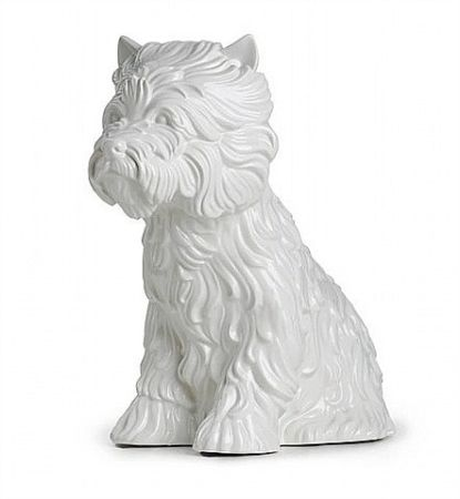 Ceramic Koons - Puppy Vase