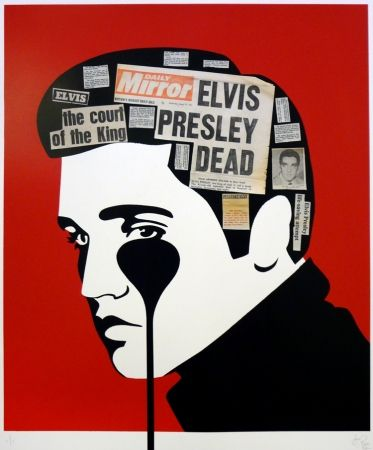 Multiple Pure Evil - Pure Elvis handfinished - Presley is dead