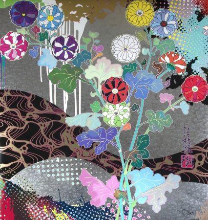 Lithograph Murakami - Pure white