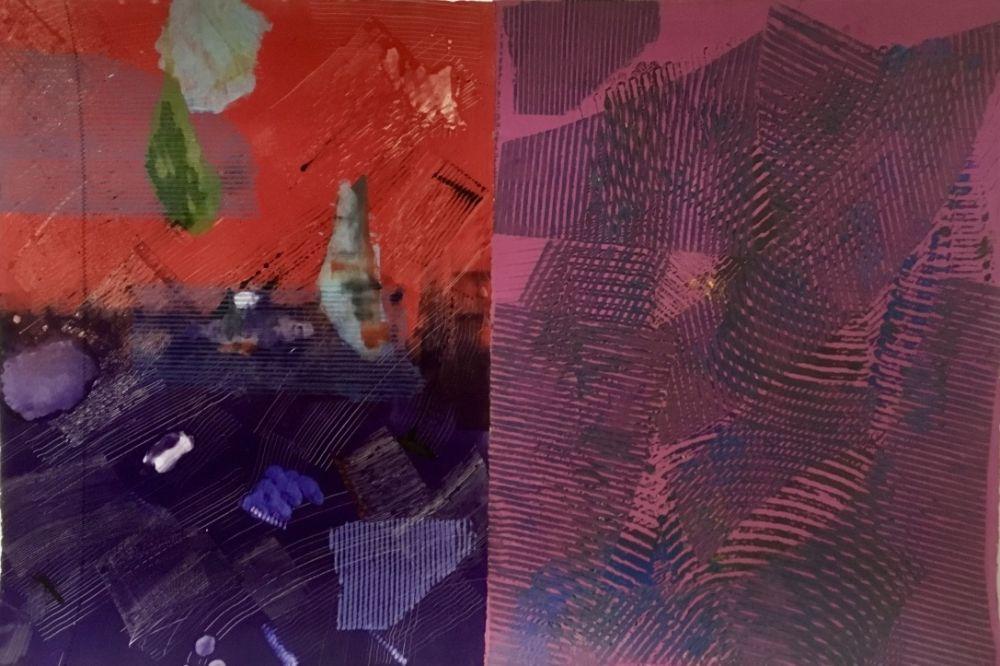 Monotype Gilliam - Purple