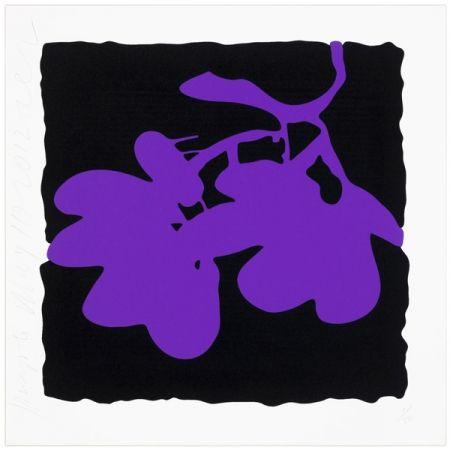 Screenprint Sultan - Purple, May 10, 2012
