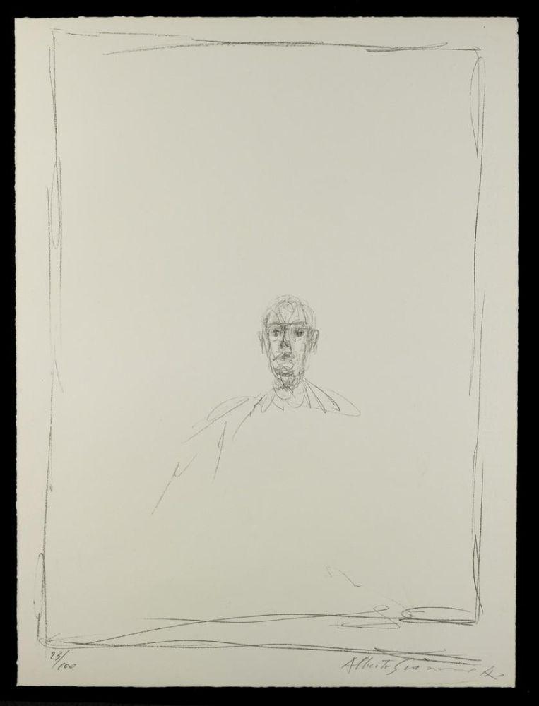 Lithograph Giacometti - Quarantacinque disegni di Alberto Giacometti