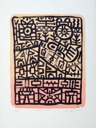 Lithograph Pauzié - Quarkorégraphie