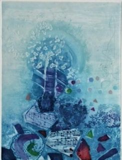 Etching And Aquatint Engel - Quartet 1