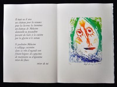 Illustrated Book Pedersen - Quatre chanson pour une château de Puisaye