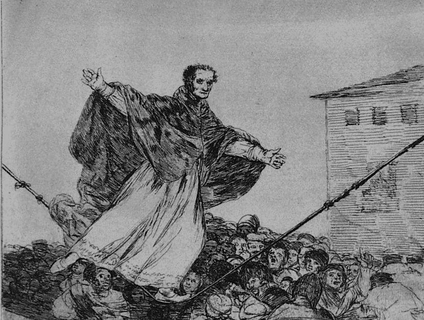 Etching And Aquatint Goya - Que rompe al cueda