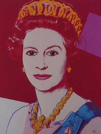 Screenprint Warhol - Queen Elizabeth II