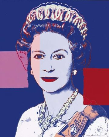 Screenprint Warhol - Queen Elizabeth II of the United Kingdom (FS II.335)