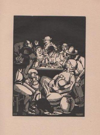 Illustrated Book Masereel - Quinze Poèmes