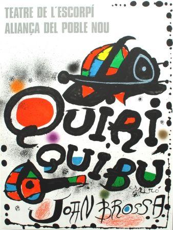 Lithograph Miró - Quiriquibú