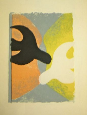 Lithograph Braque - Résurrection de l'oiseau