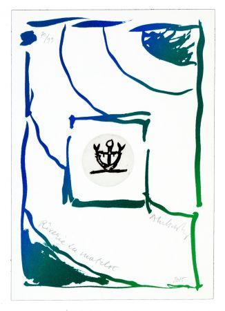 Etching Alechinsky - Rêverie du matelot III