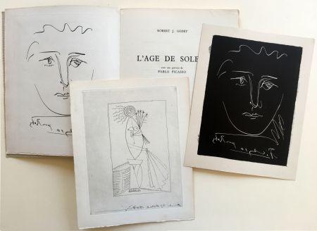 Illustrated Book Picasso - R.-J. Godet : L'AGE DE SOLEIL. Gravures de Pablo Picasso (1950).