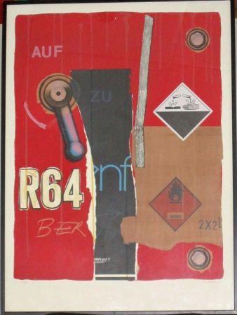 Lithograph Klasen - R 64