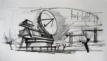 Lithograph Buffet - Radar Station, Siemens