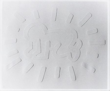 Screenprint Haring - Radiant Baby