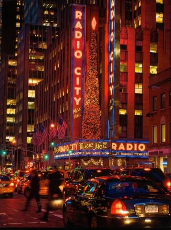 Screenprint Cone - Radio City
