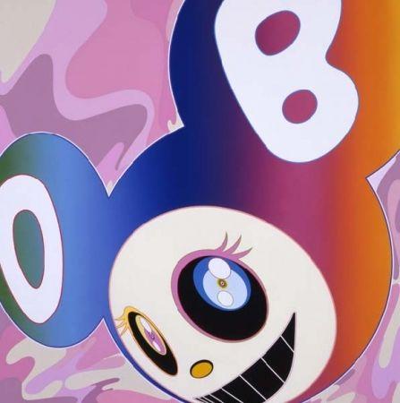 Numeric Print Murakami - Rainbow dob