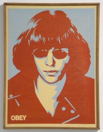 Screenprint Fairey - Ramone Canvas