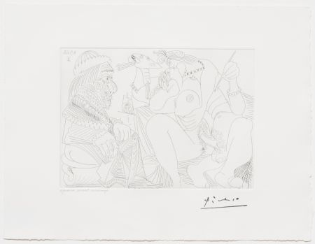 No Technical Picasso - Raphael et la Fornarina XVI