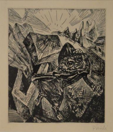 Engraving Pauli - Rastloser Wanderer